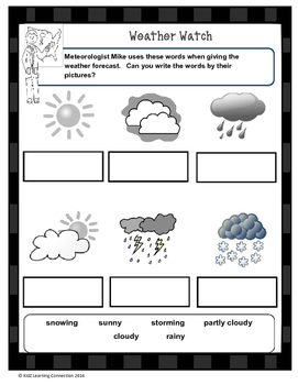 Weather Watch Words