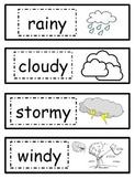Weather Watcher Activities