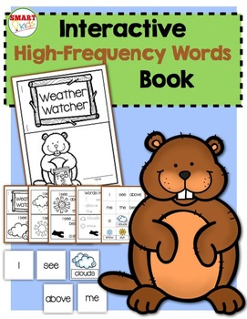Weather Watcher {Interactive High-Frequency Words Book}