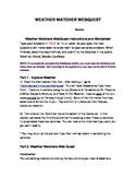 Weather Watcher Webquest