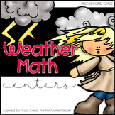 Weather Math Centers