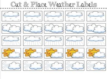 Weather Watchers Classroom Bulletin Board Set