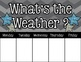 Weather Watchers (Colorful Chevron & Chalkboard Theme)