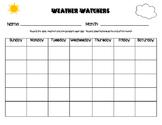Weather Watchers Journal