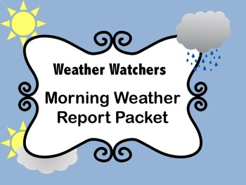 Weather Watchers Packet