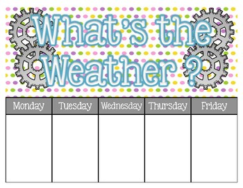 Weather Watchers (STEM-sational Theme)