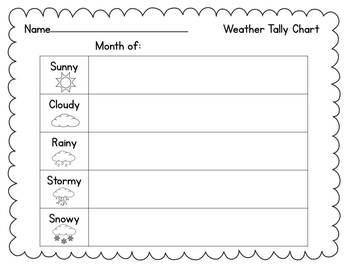 Weather Watching {Weather, Seasons, Temperature}
