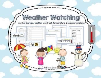 Weather Watching {Weather, Seasons, Temperature}
