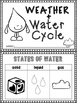 Weather & Water Cycle Minibook
