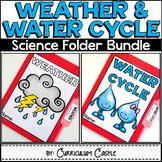 Weather & Water Cycle Science Activities Folder BUNDLE
