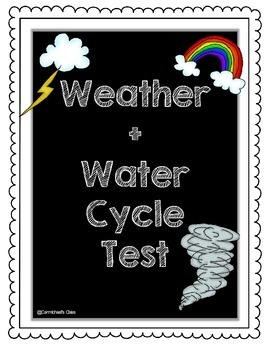 Weather & Water Cycle Test