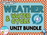 Weather & Water Cycle Unit Bundle