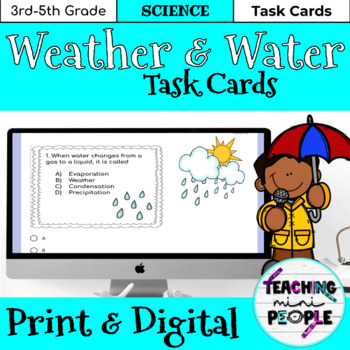 Weather & Water Task Cards