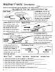Weather - Weather 10 Item / Activity Pack - Worksheets