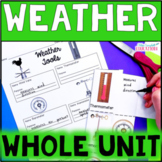 Weather Unit - Clouds, Weather Tools, Types of Precipitation, Climate Zones