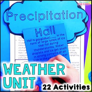 Weather Unit - Clouds, Weather Tools, Types of Precipitati
