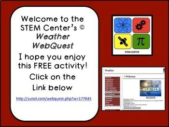 Weather Web Quest