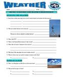Weather Webquest (Meteorologist / Clouds / Thunderstorms)
