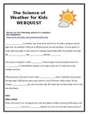 Weather Webquest for Kids