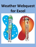 Weather Webquest for Microsoft Excel