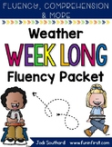Weather Week Long Fluency