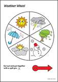 Weather Wheel Activity Bundle