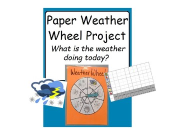Weather Wheel and Graph DIY Paper Project