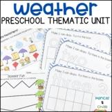 Preschool Activities - Weather!