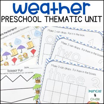 Weather Wonders! A Math, Literacy, and Science Unit for Pr