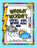 Weather Wonders Literacy, Math, Writing MEGA Unit