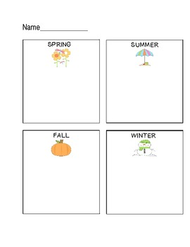 Weather Word Sort