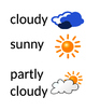 Weather Word Wall Words