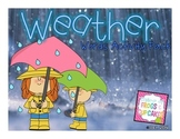 Weather Words Activity Pack