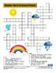 Weather Words Crossword Puzzle
