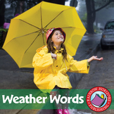 Weather Words: Sleet, Hail, Snow, Rain & Wind