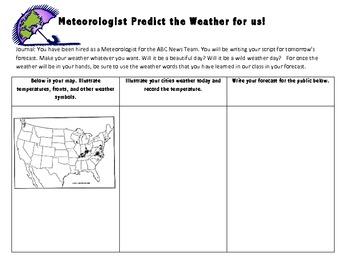 Weather Words : Tools Meteorologist Use