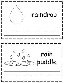 Weather Words Trace & Write Book