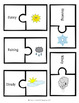 Weather Words Worksheet with Flashcards and Answer Key