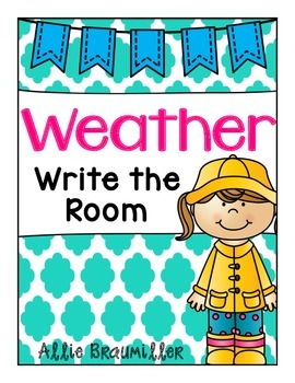 Weather Words: Write the Room