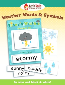 Weather Words and Symbols Pack