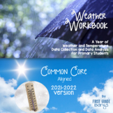 Weather Workbook {Common Core Aligned} Graphing and Data Analysis