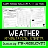 Weather Unit Activities