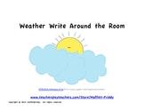 Weather Write Around the Room