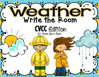 Weather Write the Room - CVCC Edition