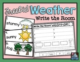 Weather {Write the Room} FREEBIE