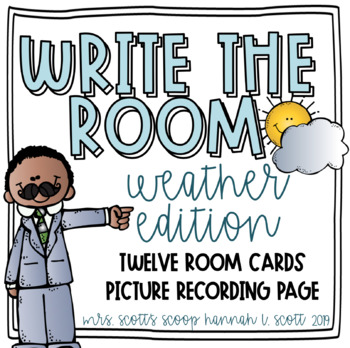 Weather Write the Room (Melonheadz)