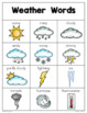 Weather Writing Center Mini-Packet