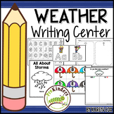 Weather Writing Center for Pre-K & K | Write the Room & More