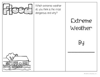 Weather Writing  ~ Common Core Aligned (FREEBIE)