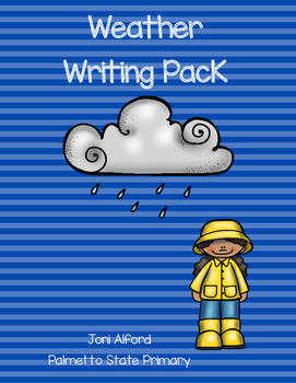 Weather Writing Pack